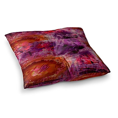 East Urban Home Suzanne Carter Gem Stone Square Floor Pillow; 26'' x 26''