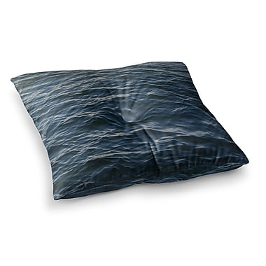 East Urban Home Suzanne Carter Deep Water Nautical Square Floor Pillow; 23'' x 23''