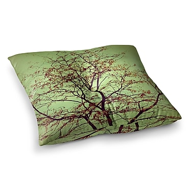 East Urban Home Sylvia Coomes Modern Fall Tree Square Floor Pillow; 26'' x 26''