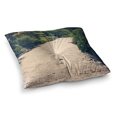 East Urban Home Sylvia Coomes Cold Stream Photography Square Floor Pillow; 23'' x 23''