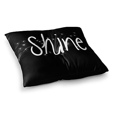 East Urban Home Suzanne Carter Shine Square Floor Pillow; 23'' x 23''