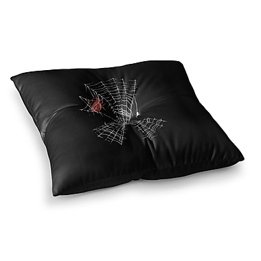 East Urban Home BarmalisiRTB Keep The Peace Square Floor Pillow; 26'' x 26''