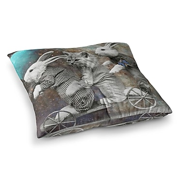 East Urban Home Suzanne Carter Space Travel Square Floor Pillow; 26'' x 26''