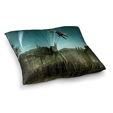 East Urban Home Suzanne Carter The Departure Square Floor Pillow; 26'' x 26''