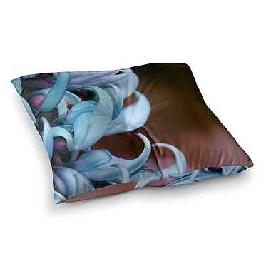 East Urban Home Suzanne Carter Emerge Floral Square Floor Pillow; 23'' x 23''