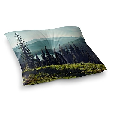 East Urban Home Sylvia Cook Discover Your Northwest Landscape Square Floor Pillow; 26'' x 26''