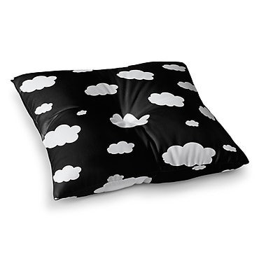 East Urban Home Suzanne Carter Clouds Square Floor Pillow; 26'' x 26''