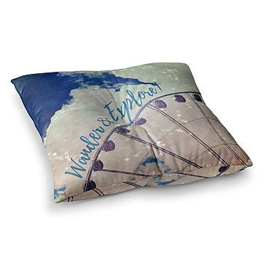 East Urban Home Robin Dickinson Wander and Explore Photography Square Floor Pillow; 26'' x 26''