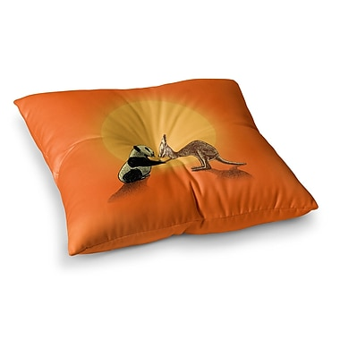 East Urban Home BarmalisiRTB Snatch Digital Square Floor Pillow; 23'' x 23''