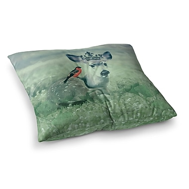East Urban Home Suzanne Carter The Night Meadow Square Floor Pillow; 23'' x 23''