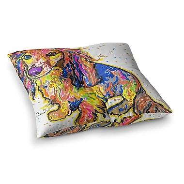 East Urban Home Rebecca Fischer Leela Daschund Square Floor Pillow; 26'' x 26''