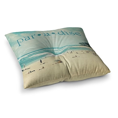 East Urban Home Sylvia Cook Paradise Square Floor Pillow; 23'' x 23''