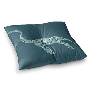 East Urban Home Alias Nessie Square Floor Pillow; 26'' x 26''