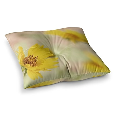 East Urban Home Sylvia Coomes Flowers Photography Square Floor Pillow; 23'' x 23''