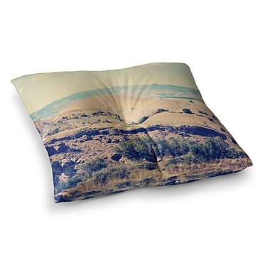 East Urban Home Sylvia Coomes Wild West Square Floor Pillow; 23'' x 23''