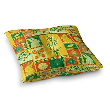 East Urban Home Tobe Fonseca Spring Seasonal Square Floor Pillow; 23'' x 23''