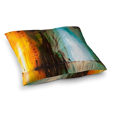 East Urban Home Steve Dix Kinds of Tranquil Painting Square Floor Pillow; 26'' x 26''