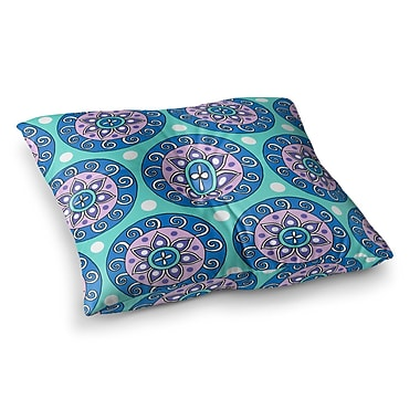 East Urban Home Sarah Oelerich Mandala Dot Square Floor Pillow; 26'' x 26''