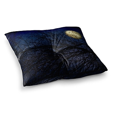 East Urban Home Sylvia Coomes Moon Celestial Square Floor Pillow; 26'' x 26''