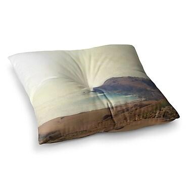 East Urban Home Sylvia Coomes Sea Dream Coastal Square Floor Pillow; 26'' x 26''