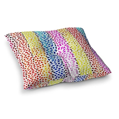 East Urban Home Sreetama Ray Arrows Square Floor Pillow; 26'' x 26''
