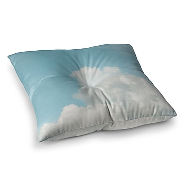 East Urban Home Suzanne Harford Summer Sky 3 Photography Square Floor Pillow; 23'' x 23''