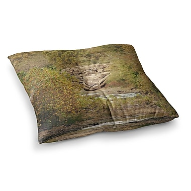East Urban Home Sylvia Coomes in the Woods 4 Nature Square Floor Pillow; 23'' x 23''