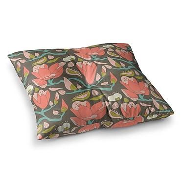 East Urban Home Very Sarie Penelope II Square Floor Pillow; 26'' x 26''