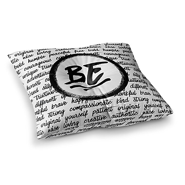 East Urban Home Noonday Design Be... Square Floor Pillow; 23'' x 23''