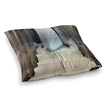 East Urban Home Sylvia Coomes Under The Pier Square Floor Pillow; 26'' x 26''