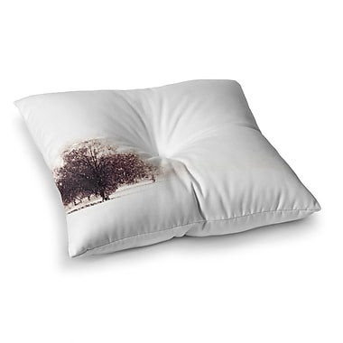 East Urban Home Sylvia Coomes Winter Landscape Square Floor Pillow; 23'' x 23''