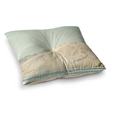 East Urban Home Sylvia Coomes West Coast 3 Photography Square Floor Pillow; 26'' x 26''