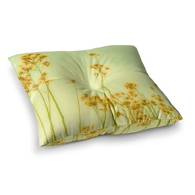 East Urban Home Sylvia Coomes Wild Flowers Square Floor Pillow; 23'' x 23''