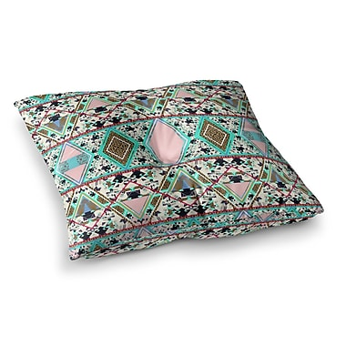 East Urban Home Vasare Nar Deco Hippie Square Floor Pillow; 26'' x 26''
