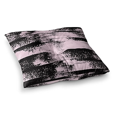 East Urban Home Vasare Nar Abstract Painting Square Floor Pillow; 26'' x 26''