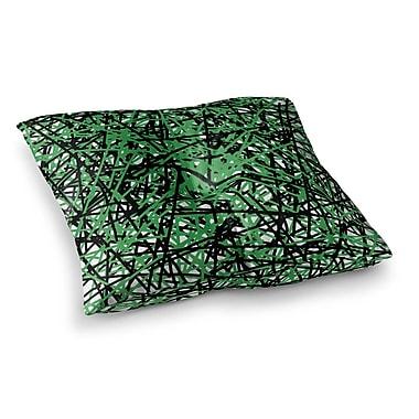 East Urban Home Trebam Trava V.4 Square Floor Pillow; 26'' x 26''