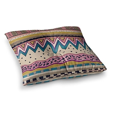 East Urban Home Vasare Nar Koko Square Floor Pillow; 26'' x 26''