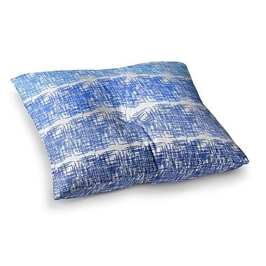 East Urban Home Trebam Visina V.3 Square Floor Pillow; 26'' x 26''