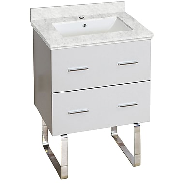 American Imaginations Xena Plywood-Melamine 23'' Single Bathroom Vanity Base