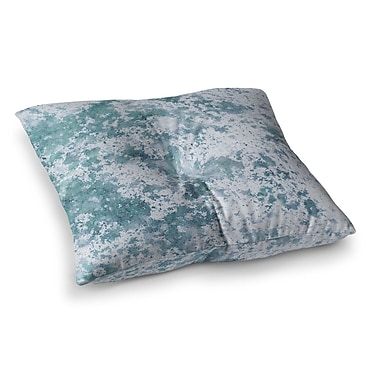 East Urban Home Will Wild Frost Square Floor Pillow; 23'' x 23''