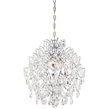 Willa Arlo Interiors Blencoe 4-Light Crystal Pendant
