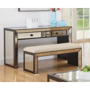BestMasterFurniture Console Table; Chrome