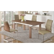 Corrigan Studio Dave Wood Pop-Up Extendable Dining Table
