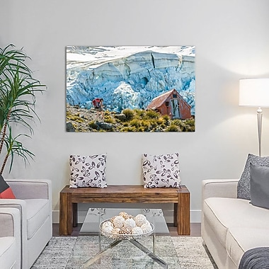 'Mount Cook National Park, South Island, New Zealand' Rectangle Photographic Print on Wrapped Canvas