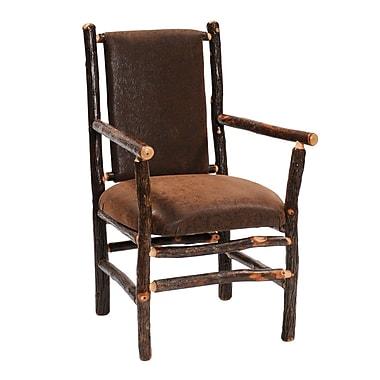 Fireside Lodge Hickory Arm Chair; Tulsa