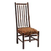 Fireside Lodge Hickory Side Chair; Sierra Brown