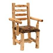Fireside Lodge Cedar Arm Chair; Timber