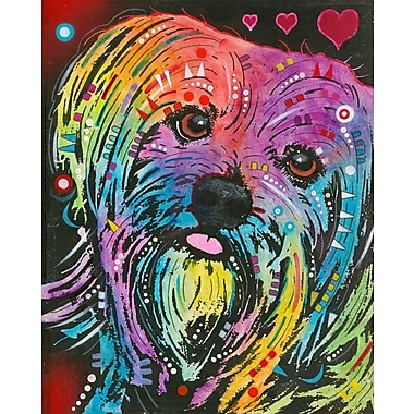 East Urban Home 'Yorkie' Graphic Art Print