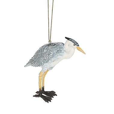 Highland Dunes Blue Heron Hanging Figurine