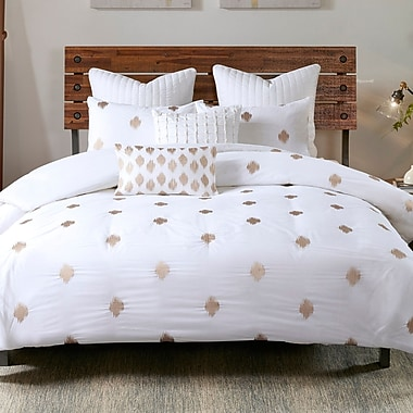 Ink + Ivy Stella Dot 3 Piece Duvet Cover Set; King/California King